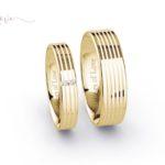 Rings of Love trouwringen geelgoud